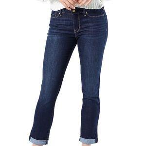 Levi's Modern Slim-cuffed Dark Wash Jeans